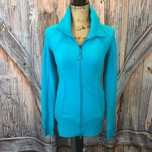 Lululemon turquoise zip jacket